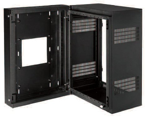 "Lowell LWR-1019 10 RU (19""D) Sectional Wall-Mount Rack LWR-1019"