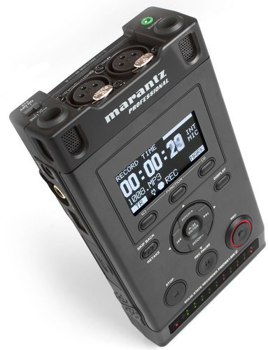 Marantz Professional PMD661 MKII Professional Handheld Solid State Broadcast Recorder PMD661MKII