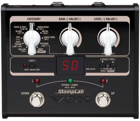 Vox Amplification StompLab IG Multi-Effects Guitar Pedal STOMPLAB-1G