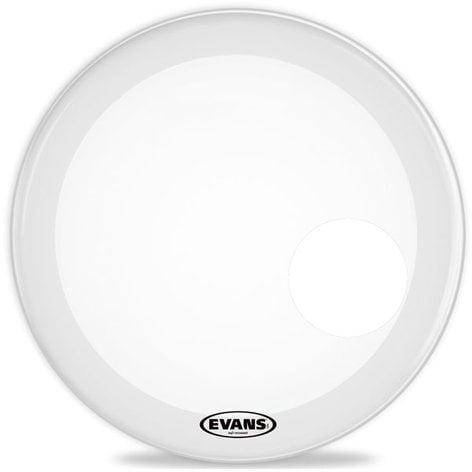 "Evans BD22RSW 22"" EQ3 Resonant Drum Head in White BD22RSW"