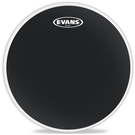 "Evans TT08HBG 8"" Hydraulic Black Drumhead TT08HBG"
