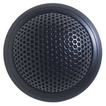 Shure MX395B/O Low Profile Boundary Mic Black Omni MX395B/O