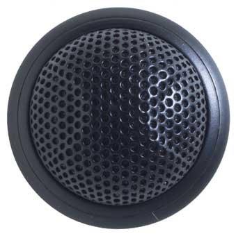 Shure MX395B/BI Low Profile Boundary Mic Black Bi-Directional MX395B/BI
