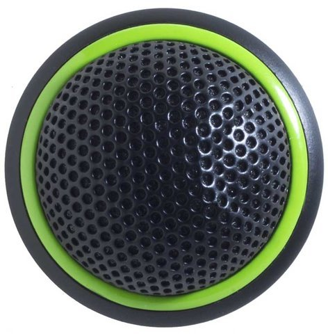 Shure MX395B/C-LED Low Profile Boundary Mic Black Cardioid LED MX395B/C-LED