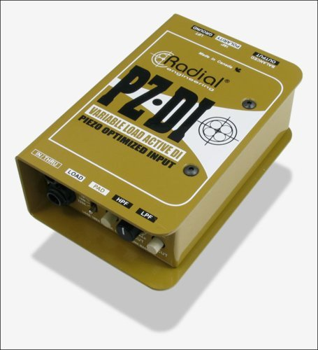Radial Engineering PZ-DI Active DI for Orchestral Piezo Pickups PZ-DI
