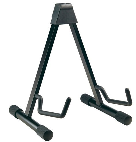 K&M Stands 17541-070-55 A-Frame Guitar Stand in Black 17541-BLACK