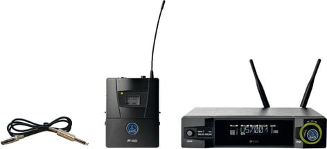 AKG WMS4500-INSTRUMENT WMS4500 Instrumental Set Reference Wireless Bodypack System with Instrument Cable WMS4500-INSTRUMENT