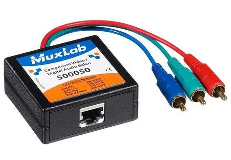 MuxLab MUX-500051 RGB Balun, Female MUX-500051