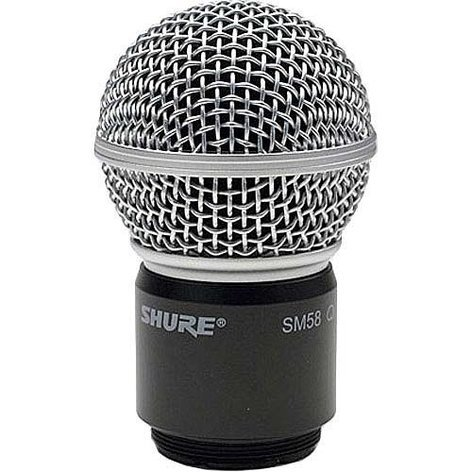 Shure RPW112 Wireless SM58 Cartridge, Housing and Matte Grille RPW112