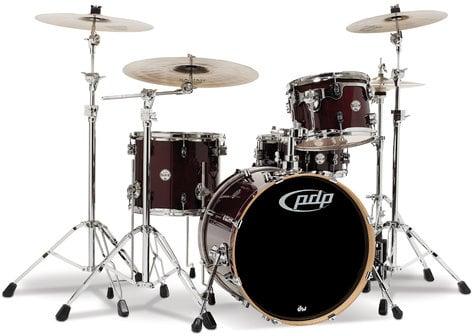 "Pacific Drums PDCM2014 Concept Series Maple 4-Piece Shell Pack: 16x20"" Bass Drum, 9x12"" Rack Tom, 12x14"" Floor Tom, 5.5x14"" Snare Drum PDCM2014"