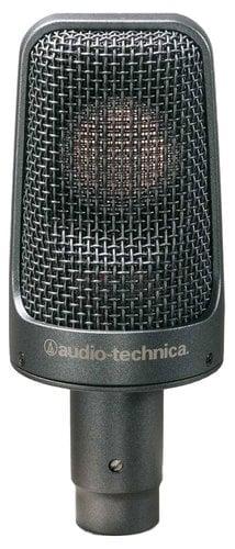 Audio-Technica AE3000 Condenser Instrument Microphone, Cardioid, High SPL Handling AE3000