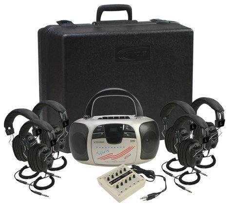 Califone International 1776PLC-6  6-Person Listening Center 1776PLC-6