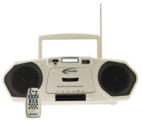 Califone International 2385AV-03 Cassette/CD/MP3 Multimedia Player/ Recorder 2385AV-03