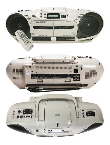 Califone International 2455AV-04 Performer Plus CD/Cassette Media Player 2455AV-04