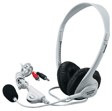 """Califone International 3064AV  Dual 1/8"""" Stereo Headset 3064AV"""