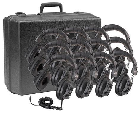 Califone International 3068-12  Switchable Stereo/ Mono Headphones, 12-Pack 3068-12