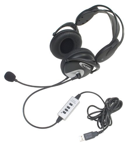 Califone International 4100-USB  USB Stereo Headset, with Microphone 4100-USB