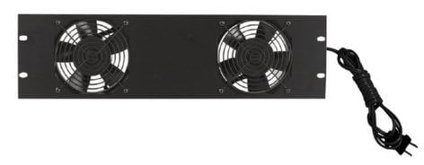 """Lowell FW2-3  19"""" Panel with (2) Whisper Fans FW2-3"""