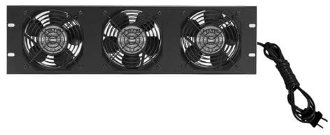 """Lowell FW3-3  19"""" Panel with (3) Whisper Fans FW3-3"""