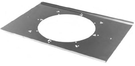 Lowell LBS8-CP Tile Bridge with Round Opening LBS8CP