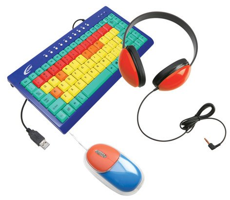 Califone International KIDSPACK Computer Peripheral Package for Kids KIDSPACK