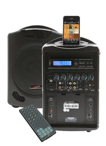 Califone International PA419-Q2  Portable PA System, with iPod Dock PA419-Q2