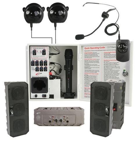 Califone International PA-IRSYSB  4-Speaker IR Classroom Audio System PA-IRSYSB