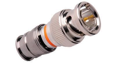 Liberty AV Solutions CM-RG6L-BNC  Universal Large Nickel C-Tec2 RG6 BNC Plug CM-RG6L-BNC