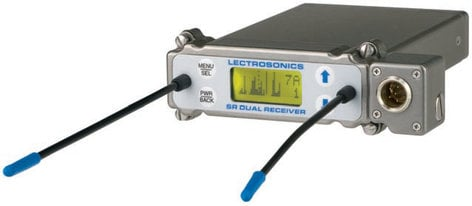 Lectrosonics SRB/5P Dual Channel Camera Slot UHF Receiver with External Audio Output SRB5P