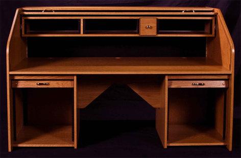HSA Rolltops RTCUS-II  Rolltop Custom Rack Desk RTCUS-II