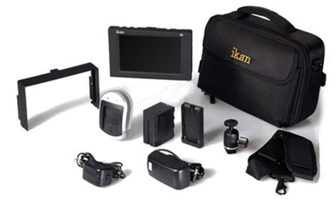 "ikan Corporation D5W-P-DK D5w LCD Monitor Deluxe Kit, 5.6"" Panasonic D54 series D5W-DK-P"