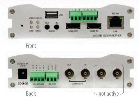 Marshall Electronics VS-102-HDI HDMI Over IP Video Server VS-102-HDI