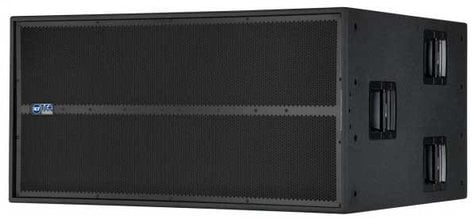"RCF TTS56-A 6800W 2x21"" Active High-Power Subwoofer TTS56-A"