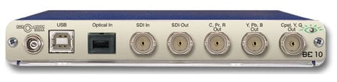 Ensemble Designs BE-10 Optical/SDI-Analog/SDI Convert, Requires Power Supply (BE-PS - NOT Included) BE-10