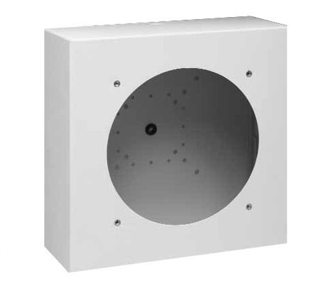 Lowell LUH-BOX  Surface or Recessed Backbox with 20 Gauge Stainless Steel LUH-BOX