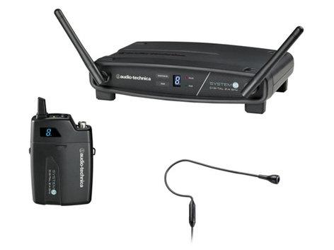Audio-Technica ATW-1101/H92 System 10 2.4 GHz Wireless System with Pro92cW Headworn Microphone ATW-1101/H92