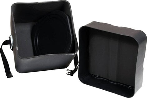 Gator Cases GP-PC317 Roto-Molded Timbales Case with Divider by Protechtor GP-PC317