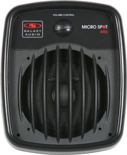 "Galaxy Audio MS5 5"" 100W @ 16 ohm Speaker with Volume Control in Black MS5-GALAXY"