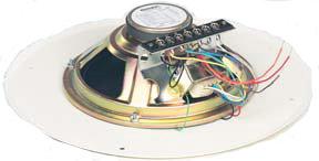 """Bogen Communications S86T725PG8UVK  8"""" Ceiling Speaker, Bright White S86T725PG8UVK"""