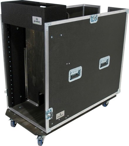 Grundorf Corp T8-SNR-18C Tour 8 Series Snake Rack, 18 Space with Large Casters T8-SNR-18C