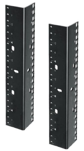 Lowell RRD-21 (2) 21 RU Rack Rails with Dual-Hole Pattern RRD-21