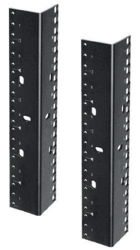 Lowell RRD-21 (2) 21 RU Rack Rails with Dual-Hole Pattern RRD-21