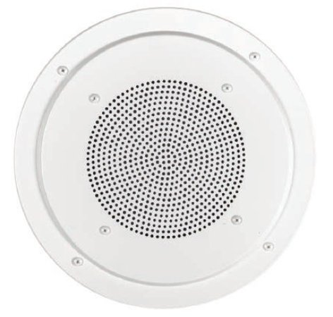 """Lowell RS8-AW White Screw-Mount Aluminum Grille for 8"""" Speaker RS8AW"""