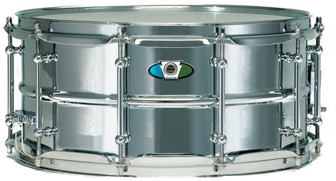 """Ludwig Drums LW6514SL  6.5"""" x 14"""" Supralite Steel Snare Drum LW6514SL"""