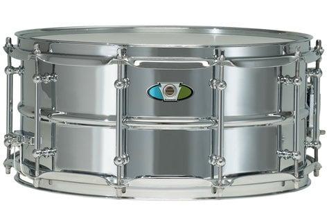 """Ludwig Drums LW5514SL 5.5"""" x 14"""" Supralite Steel Snare Drum LW5514SL"""
