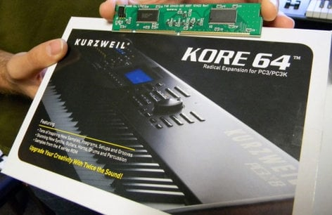 Kurzweil KORE 64 ROM Expansion Card for PC3/PC3K KORE64