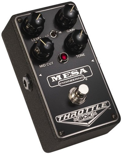 Mesa Boogie Ltd Throttle Box High Gain Distortion Guitar Pedal THROTTLE-BOX