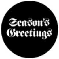 "Rosco 78389 ""Season's Greetings"" 2 Gobo 78389"