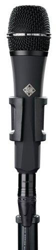 Telefunken M80-BLACK Dynamic Handheld Cardioid Microphone with Black Grille M80-BLACK