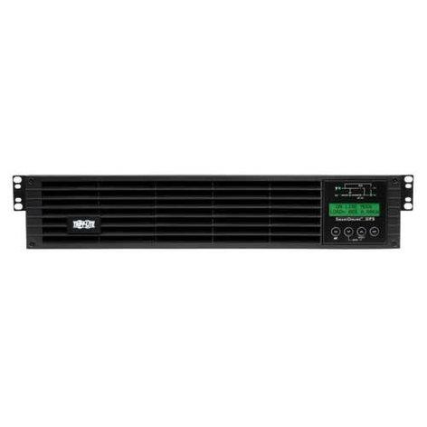 Tripp Lite SU1500RTXLCD2U  SmartOnline 1.5kVA On-Line Double-Conversion UPS, 2U Rack/Tower, Interactive LCD display, 100/110/120/127V NEMA outlets SU1500RTXLCD2U